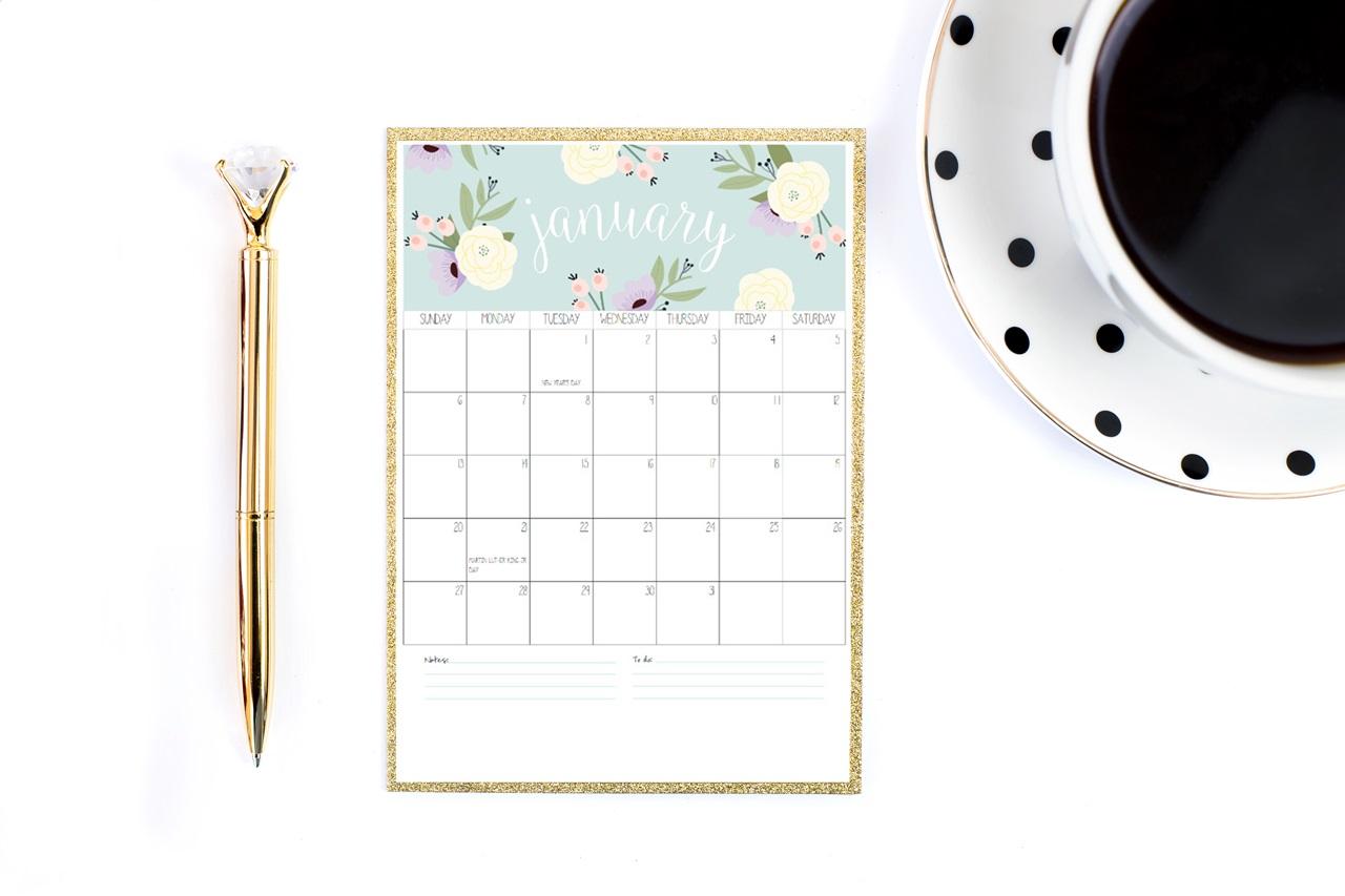planer 2019 / kalendarz 2019 do druku do pobrania za darmo