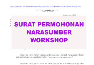"<img src=""https://1.bp.blogspot.com/-M2cegCmfBYk/Xhinm2XdEdI/AAAAAAAACEE/xfcPAo_TG8sbg8fZT1RV80MCb_o71rQMACEwYBhgL/s320/contoh-surat-permohonan-narasumber-workshop.png"" alt=""Contoh Surat Permohonan Narasumber Workshop""/>"
