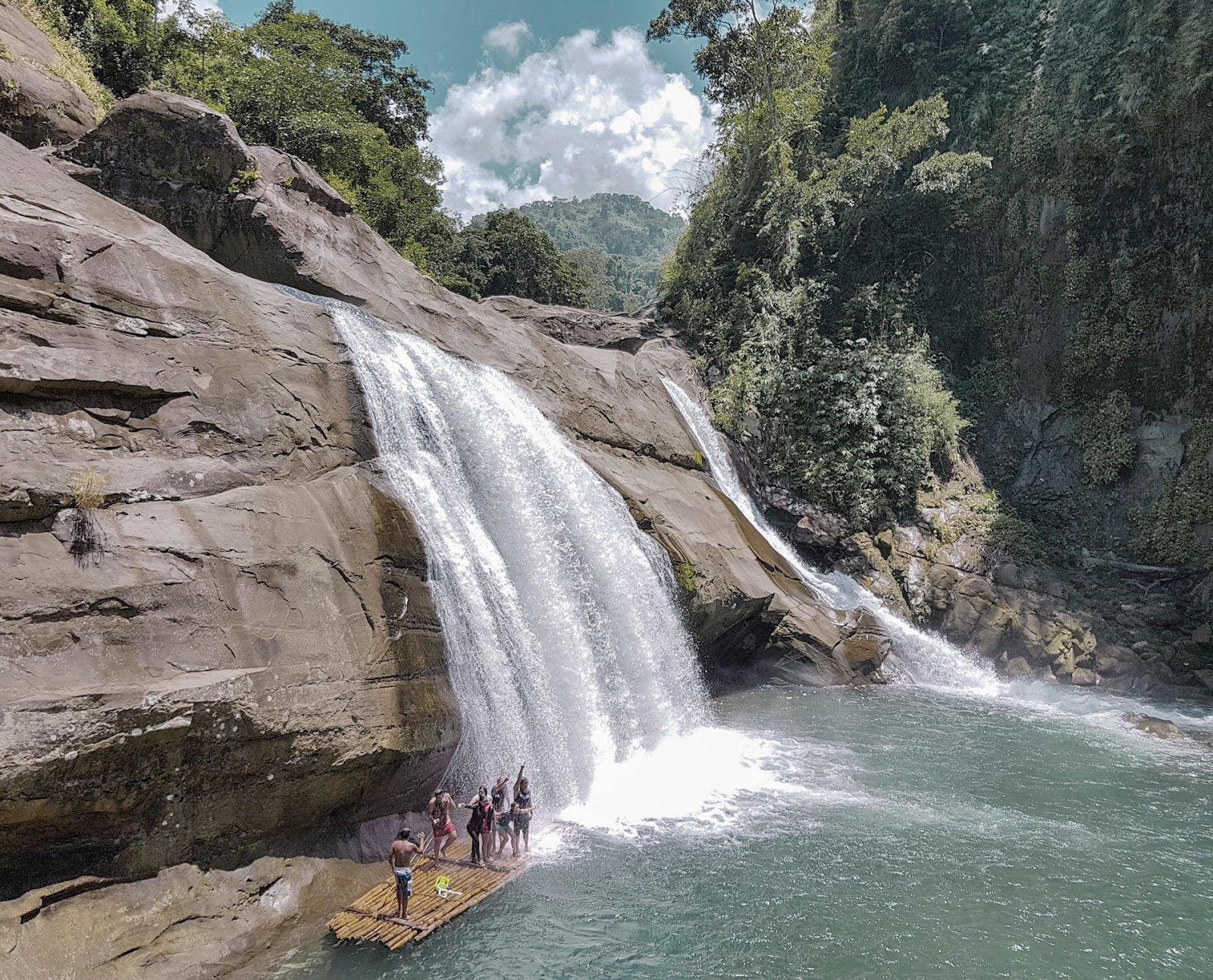 Tangadan Falls, La Union Philippines