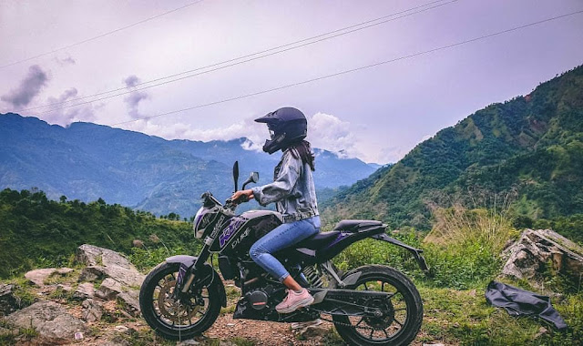 First Female Motovlogger in Nepal: Savya Rides
