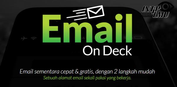 Cara Menggunakan Email Sementara Pada Emailondeck