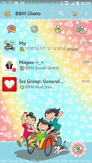BBM Mod BBM Becak Based official V2.13.0.26 Apk