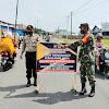 Kapolsek Galesong, Pimpin Oprasi Yustisi Stasioner, Dengan Menyasar Pengendara Motor dan Mobil