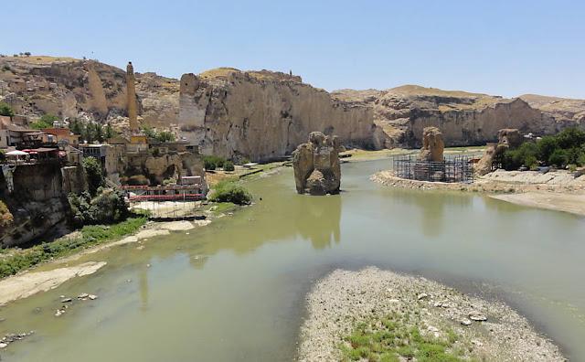 Rio Tigre na Mesopotâmia