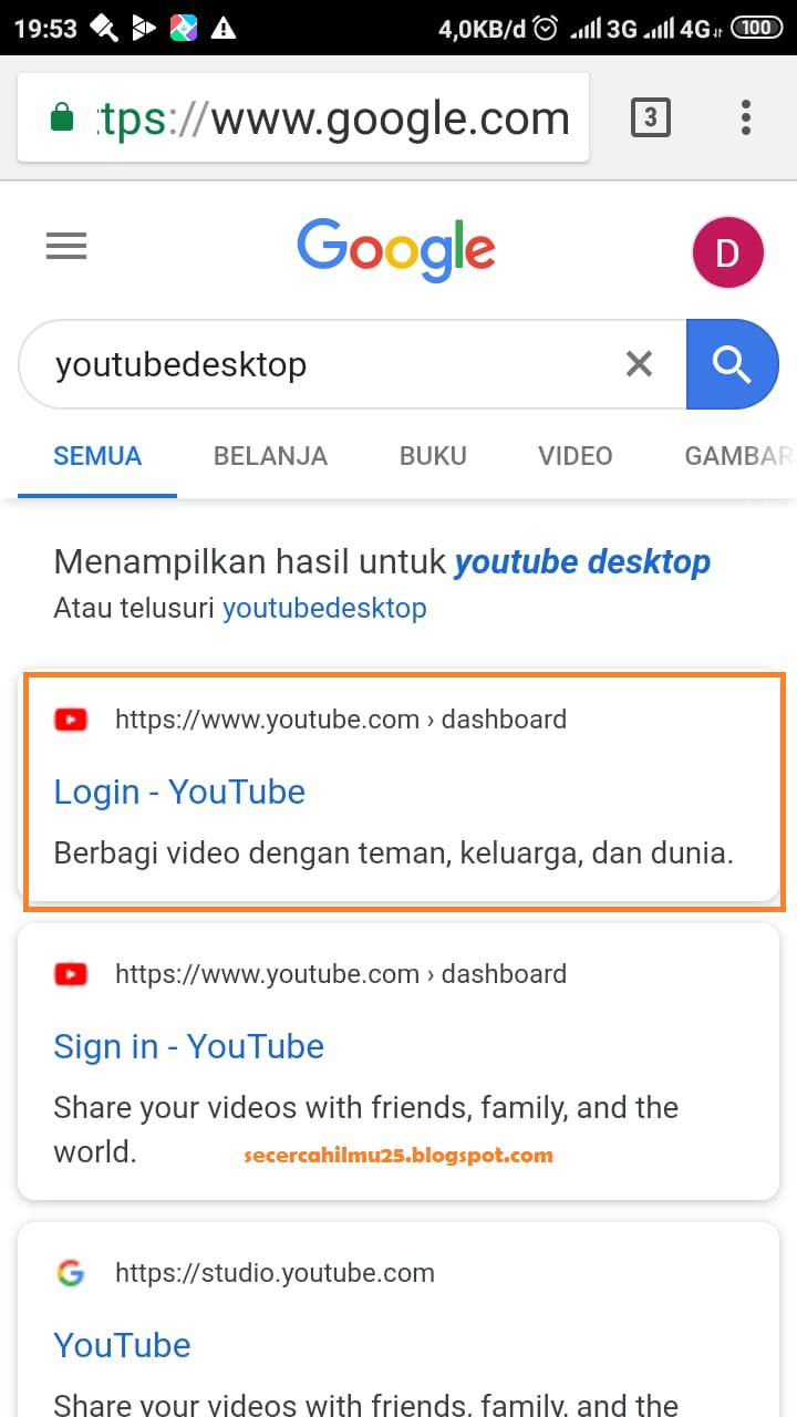 google adsense youtube lewat hp