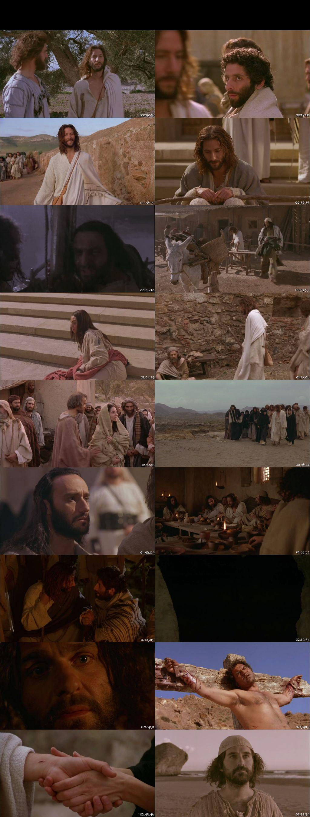 Screen Shot Of The Gospel of John 2014 300MB Full Movie Hindi Dubbed Free Download 720P WebRip HEVC
