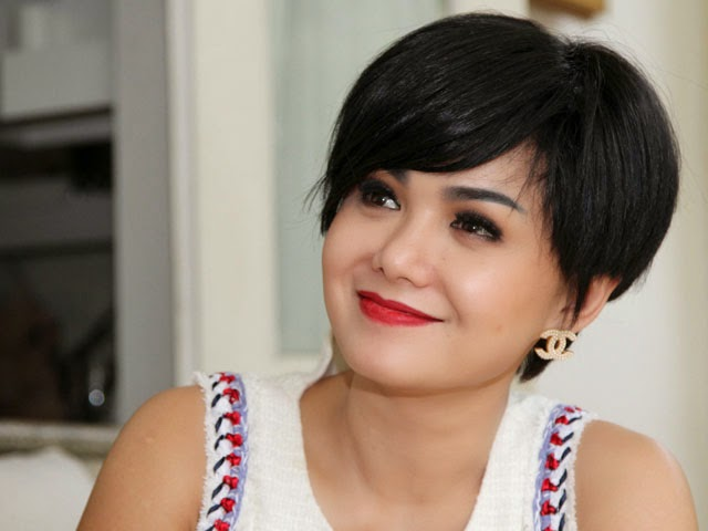 Contoh Gaya Rambut - Gaya rambut pendek depan
