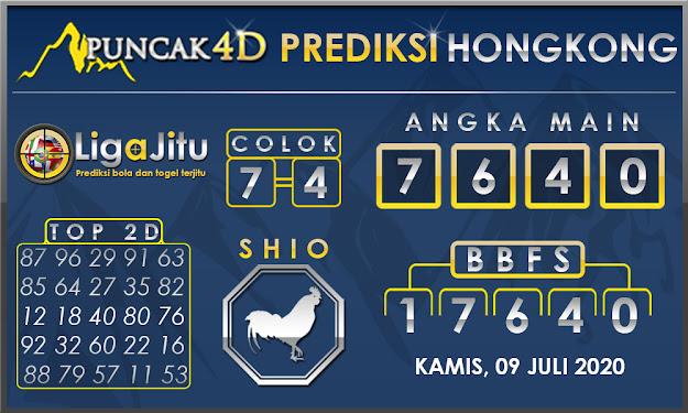 PREDIKSI TOGEL HONGKONG PUNCAK4D 09 JULI 2020