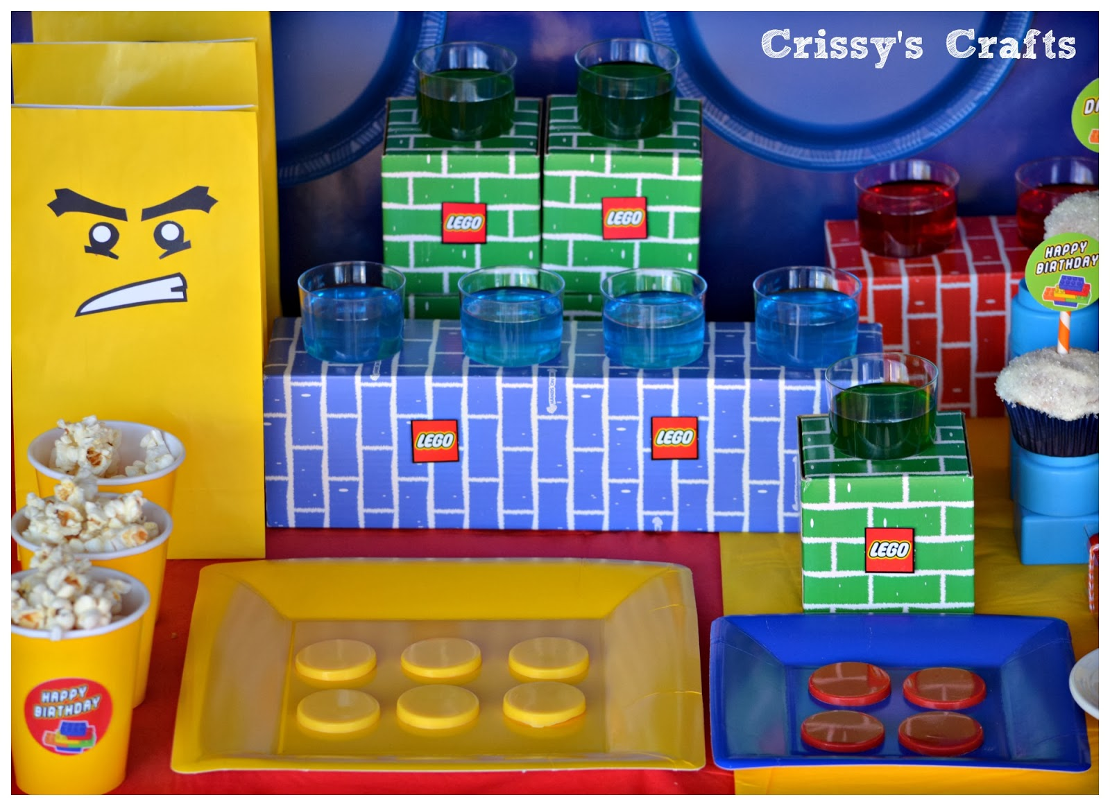 Crissy S Crafts Lego Party Ideas
