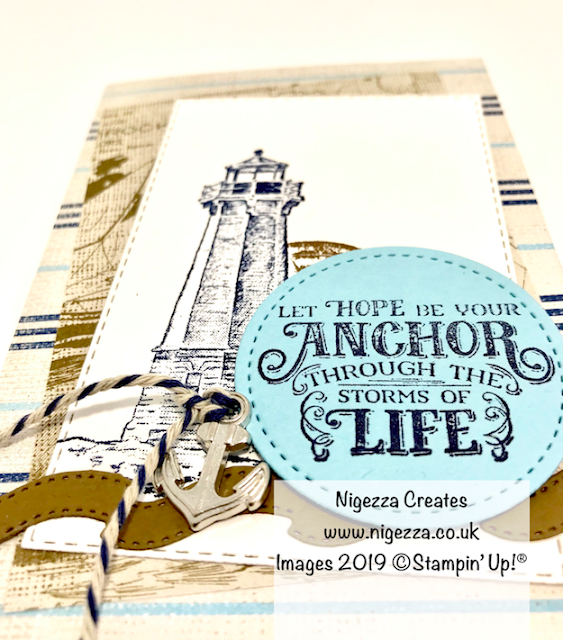 Nigezza Creates, Stampin Up! Sailing Alternative To Home On Stage Make & Take