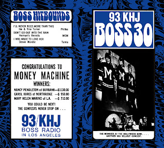 KHJ Boss 30 No. 102 - The Monkees at the Hollywood Bowl