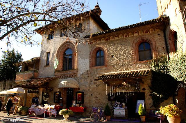 Il borgo medievale di Grazzano, casa tipica
