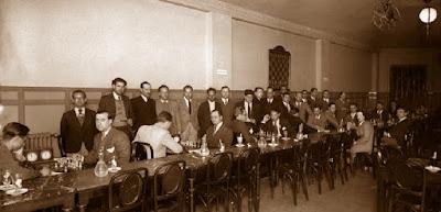 Primera ronda del II Torneo de Maestros Catalanes 1936