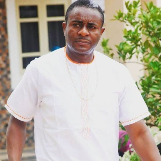 """I love you my wife"" – Emeka Ike says as he shows off his wife & newborn daughter"