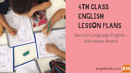 4th Class Second Language English Session/Lesson Plans