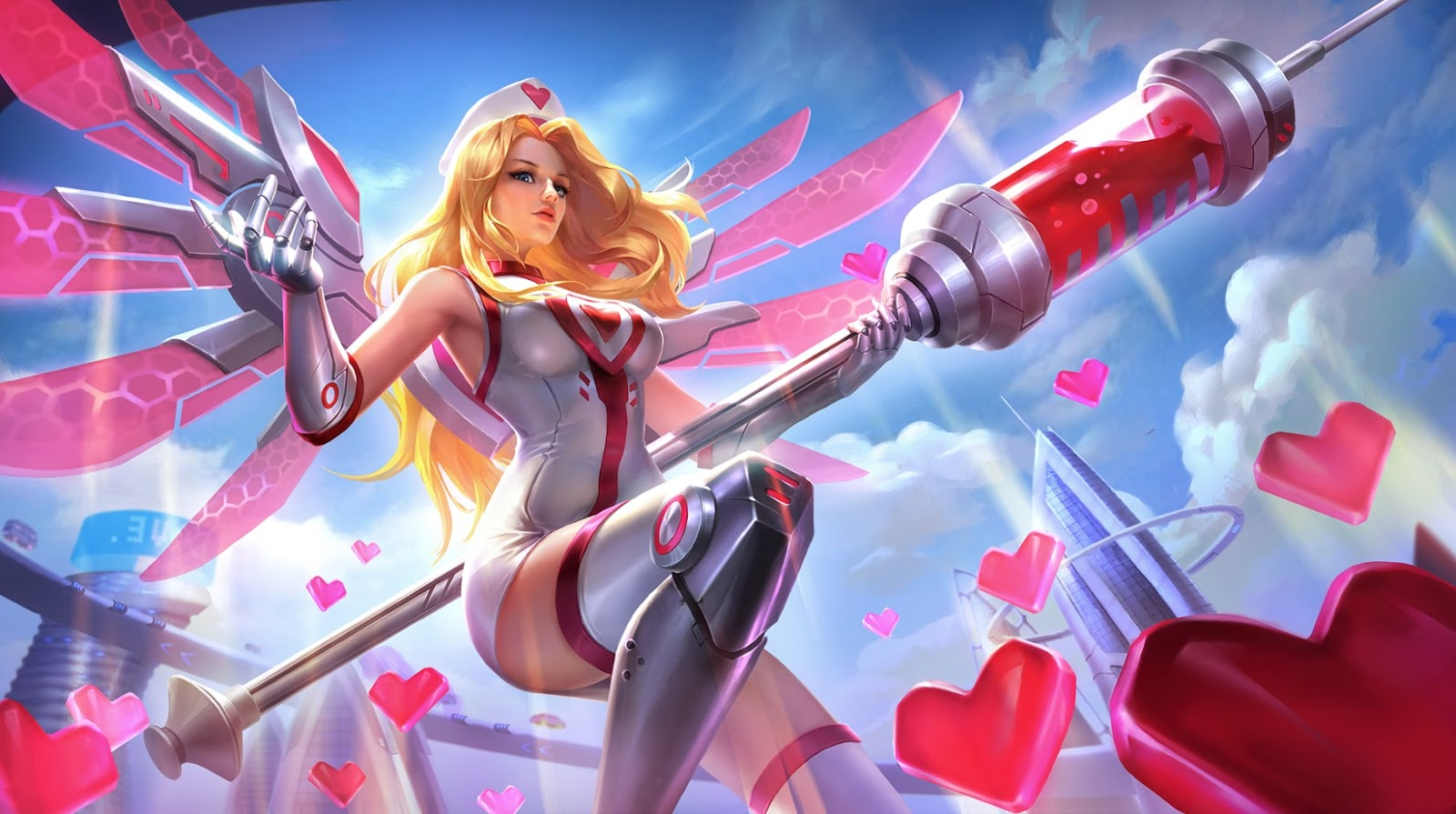 Wallpaper Rafaela Biomedic Skin Mobile Legeneds HD for PC