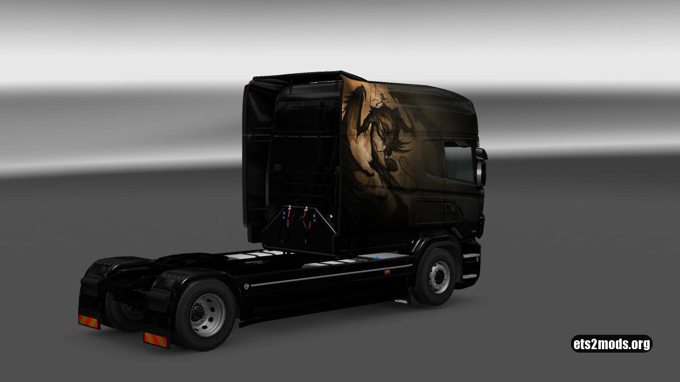 Scania RJL Dracon V 5 Skin