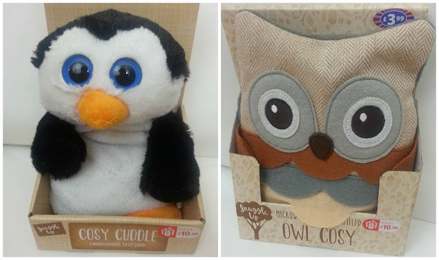 Penguin and Owl Microwave Heat Packs