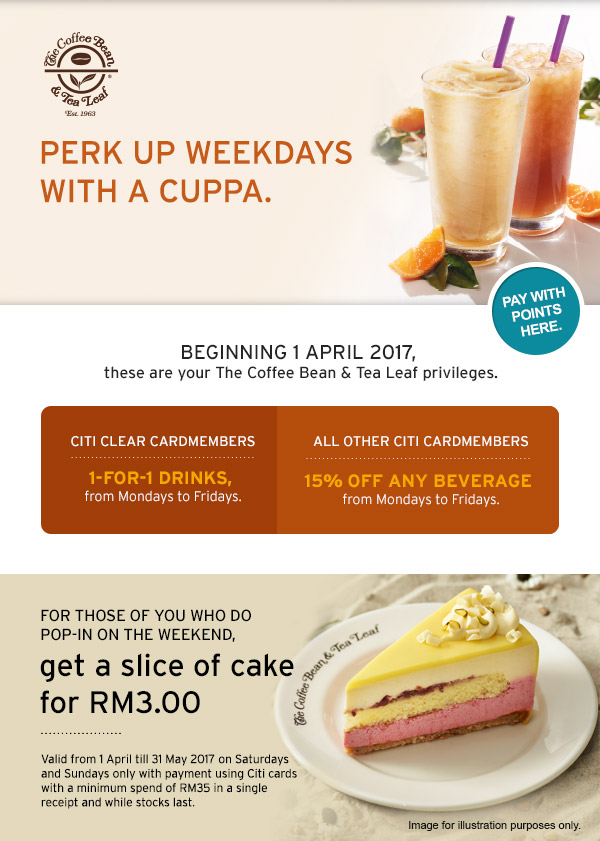 Coffee Bean Cake Promotion