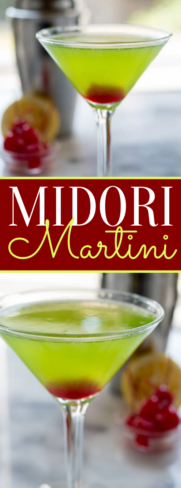 Midori Martini #drinks #cocktails #martini #mixeddrink #partydrink