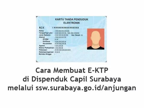 E-KTP Surabaya