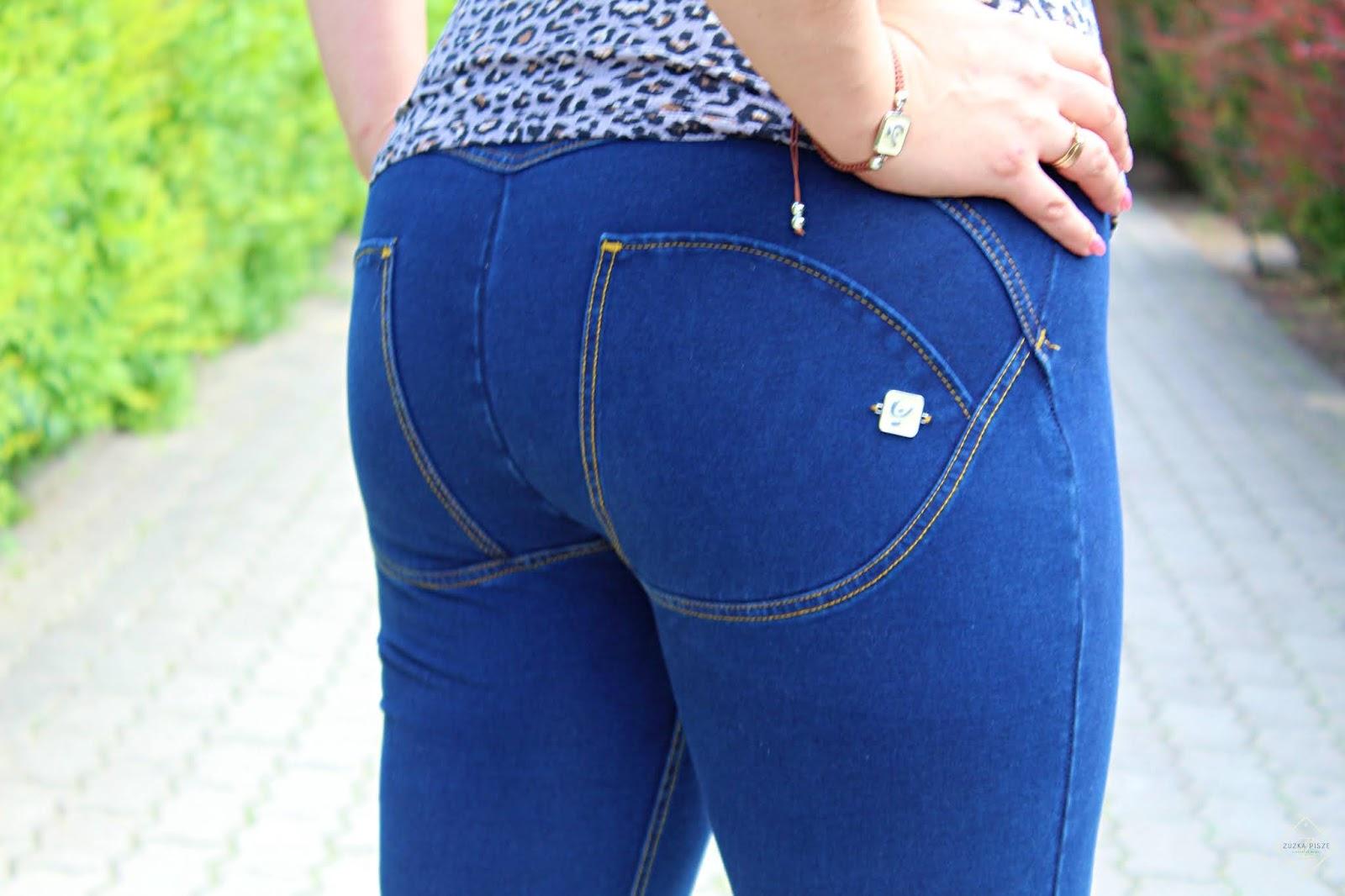 WR.UP® Denim - Spodnie Skinny z wysokim stanem - FREDDY POLSKA