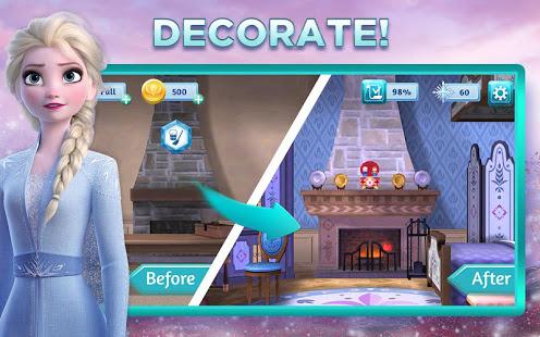 Game Offline Terbaik untuk Android Elsa Anna Frozen Puzzle