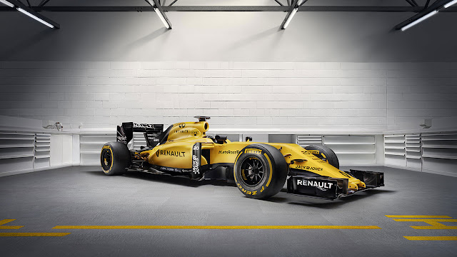New Renault Sport Formula One Team livery rides the waves Down Un