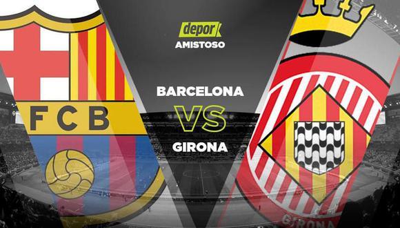 Barcelona vs. Girona EN VIVO vía Barca TV: canales del amistoso