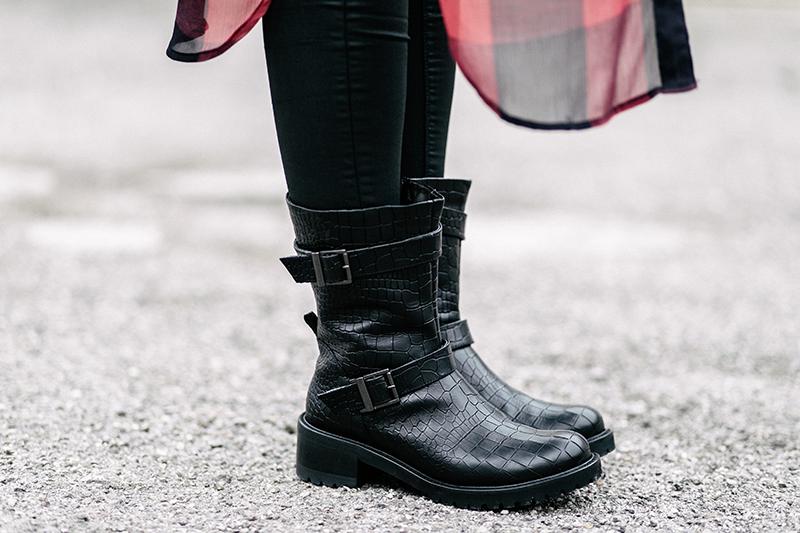 Fashion-Blog-Munich-München-Muenchen-Fashionblog-Modeblog-Peter Kaiser-OOTD-Outfit-Neverfullydressed-Biker Look-Boots-Modeprinzesschen-Deutschland