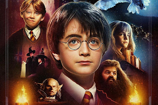 Harry Potter and the Philosopher's Stone: 20 years of Harry Potter poster (UK)