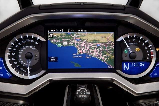Honda GL 1800 Gold Wing: atualização do multimídia traz compatibilidade com Android Auto