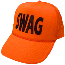 Orange swag hat (credit to http://ragehats.com/shop/neon-orange-swag-hat/)