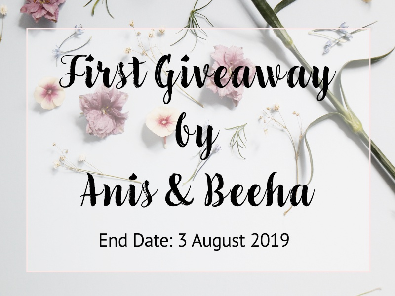 giveaway by anis and beeha