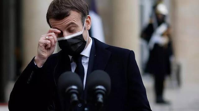 Presiden Perancis Emmanuel Macron Positif Covid-19!
