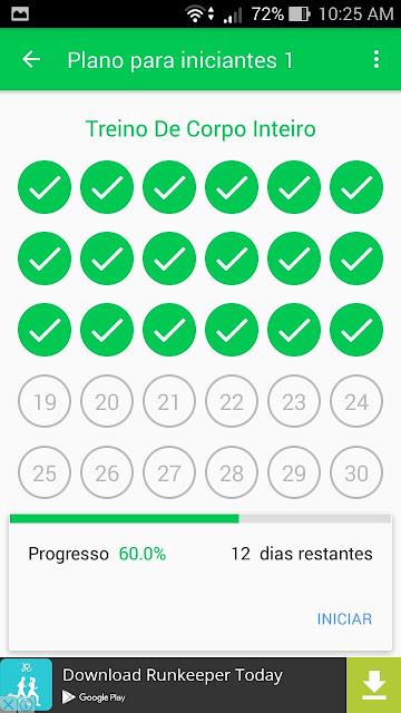 Aplicativo Boa Forma 30 dias