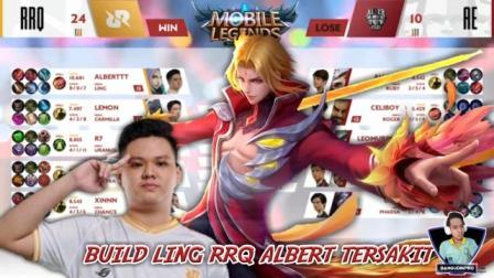 Build Ling RRQ Albert Strongs in MPL Final ID