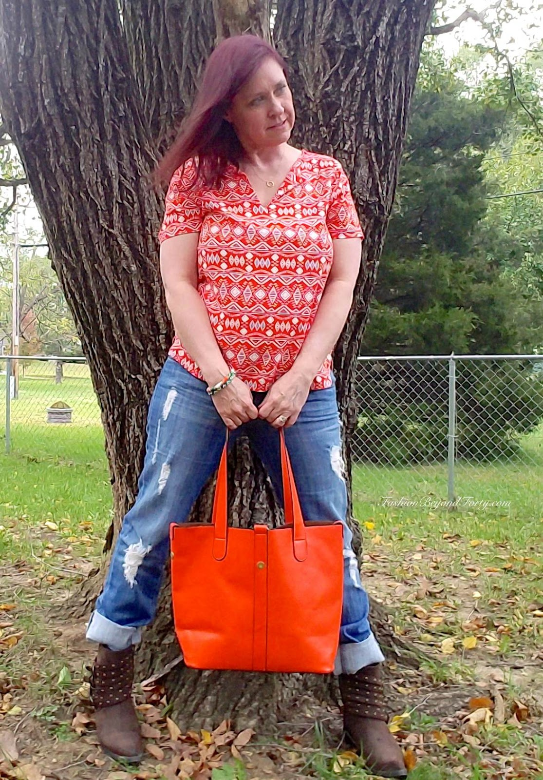 What I Am Wearing Today #13 Feeling Orange For Autumn