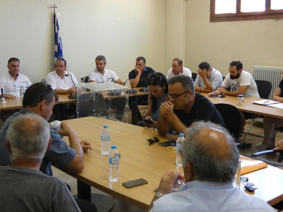 Εκλογή Προεδρείου Δ.Σ. Επιτροπών στο Δήμο Σιθωνίας