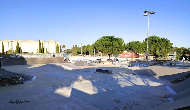 skate park montpellier grammont