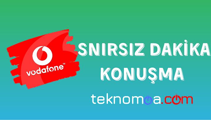 Vodafone Sınırsız Konuşma - Dakika Hakkı | 2020
