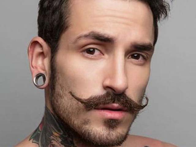 Handlebar mustache was once considered to be the mustache style of kings and emperors.