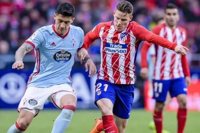 مشاهدة مباراة أتلتيكو مدريد وسيلتا فيجو بث مباشر