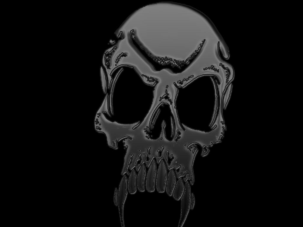 Wallpaper collection for your computer and mobile phones - Scary skull backgrounds ...