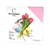 American Crafts Cardstock Pack, Spring