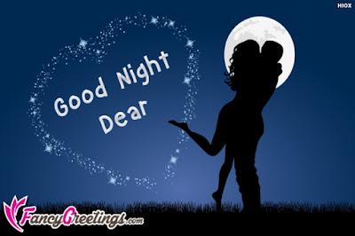 Romantic Good NIght Animated Gif Images