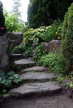 escaleras de pizarra