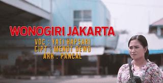 Lirik Lagu Wonogiri Jakarta