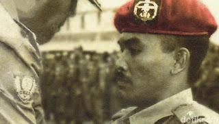 Mengenang Sosok Agus Hernoto, Prajurit Berkaki Satu Yang Menjadi Legenda Kopassus