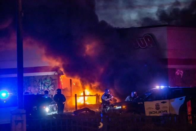 Donald Trump on violent Minneapolis protests: city manager Jacob Freyr 'very weak,' 'thugs' dishonor martyr Floyd's memory